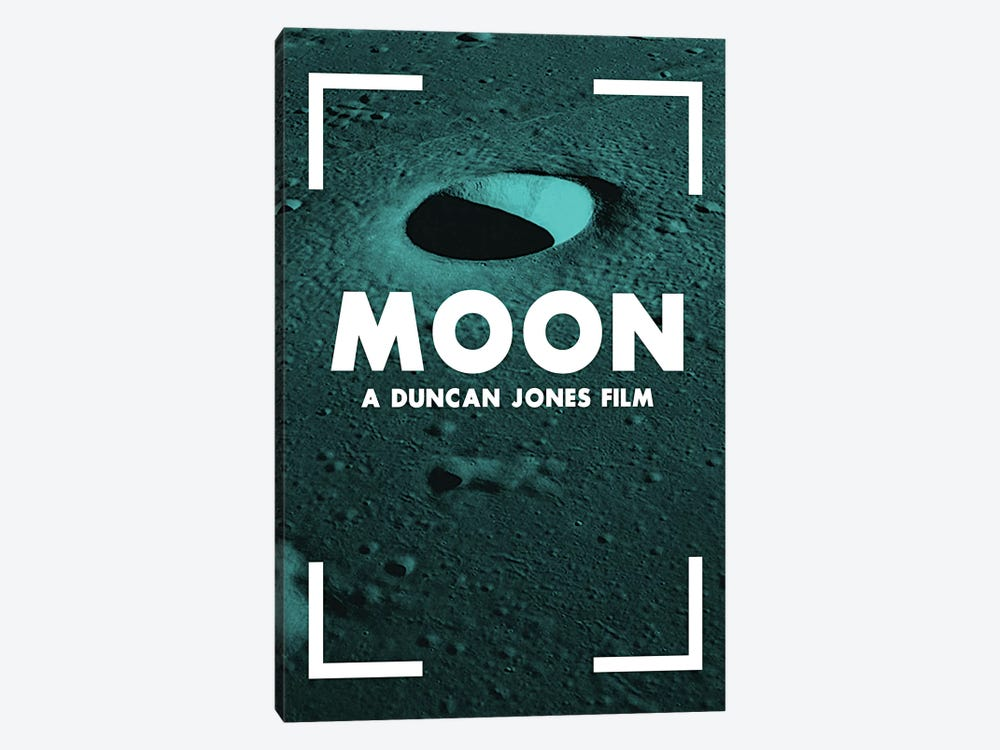 Moon Alternative Poster  by Popate 1-piece Canvas Print