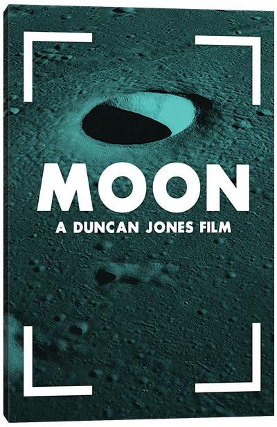 Moon Alternative Poster  Canvas Art Print