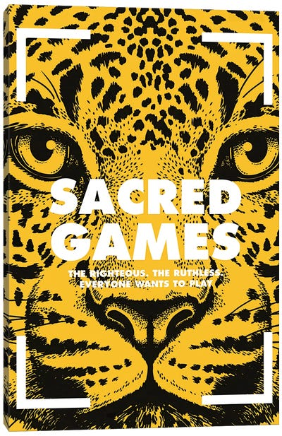 Sacred Games Alternative Poster  Canvas Art Print
