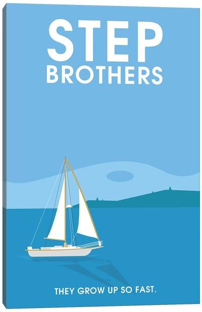 Step Brothers Minimalist Poster  Canvas Art Print