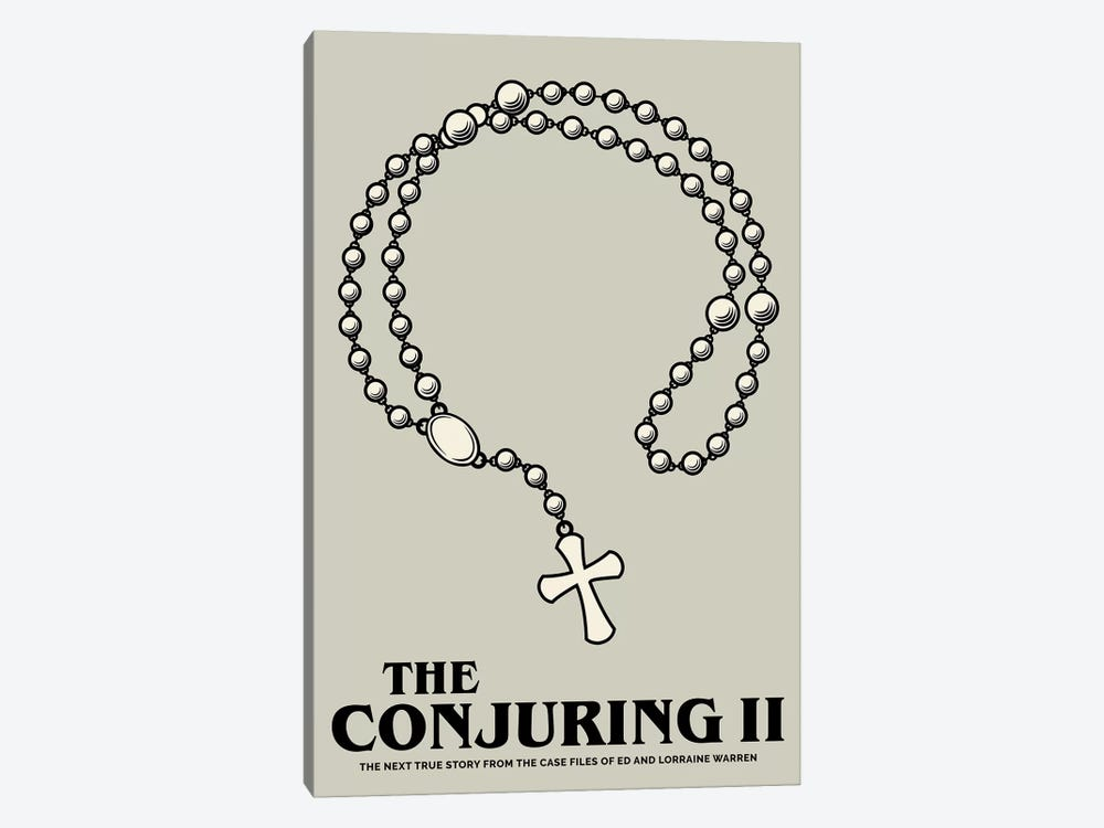 The Conjuring II Minimalist Poster  by Popate 1-piece Canvas Artwork