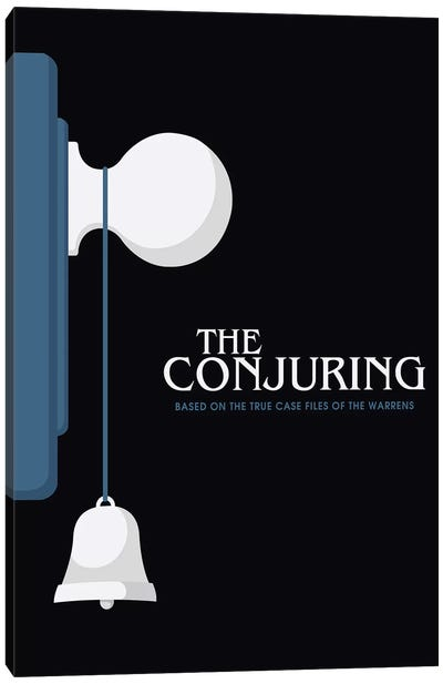 The Conjuring Minimalist Poster  Canvas Art Print