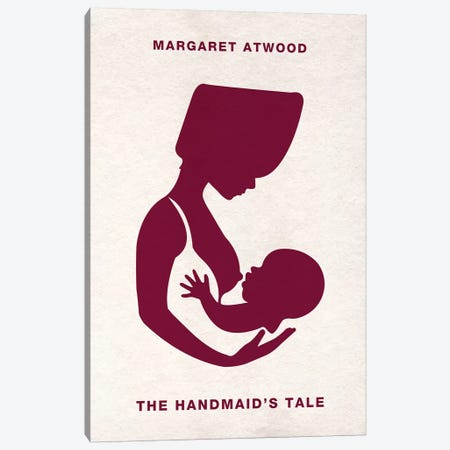 The Handmaid's Tale Alternative Minimalist Poster  Canvas Print #PTE214} by Popate Canvas Art