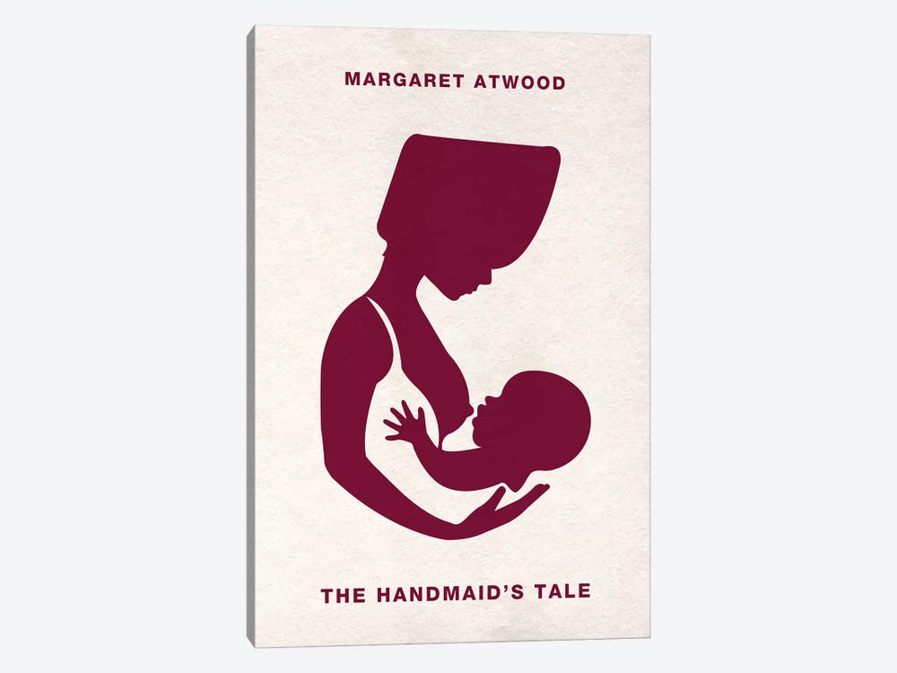 The Handmaid's Tale Alternative Minimalist Poster  by Popate 1-piece Canvas Wall Art