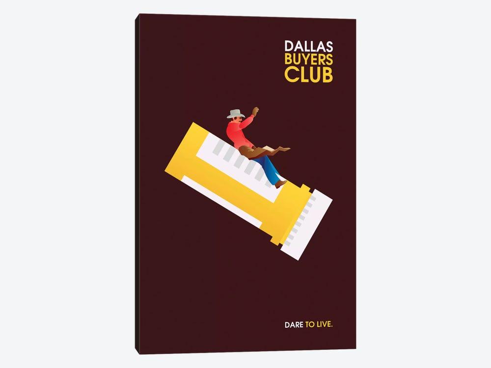 Dallas Buyers Club Minimalist Poster by Popate 1-piece Art Print
