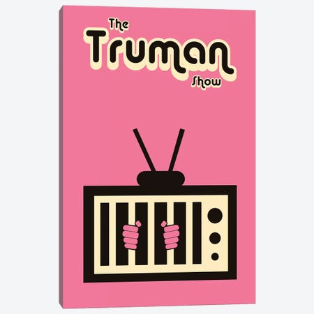 The Truman Show Minimalist Poster - Free Truman  Canvas Print #PTE220} by Popate Canvas Artwork