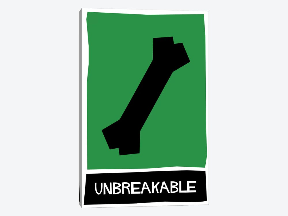 Unbreakable Alternative Vintage Saul Bass Poster  by Popate 1-piece Art Print