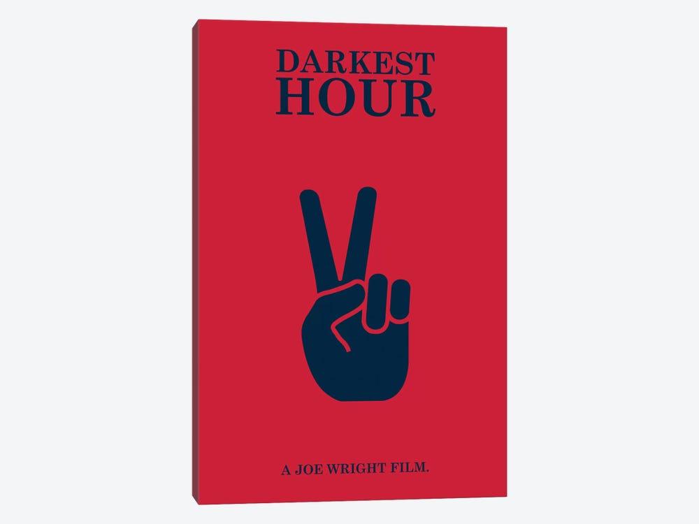 Darkest Hour Minimalist Poster by Popate 1-piece Canvas Artwork
