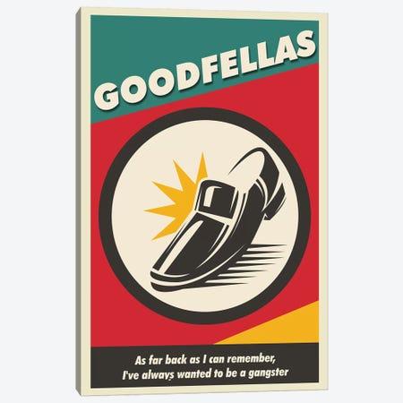 Goodfellas Vintage Poster Canvas Print #PTE231} by Popate Art Print