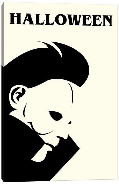 Halloween Minimalist Poster Canvas Art Print