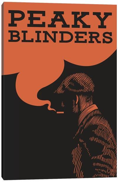 Peaky Blinders Vintage Poster Canvas Art Print