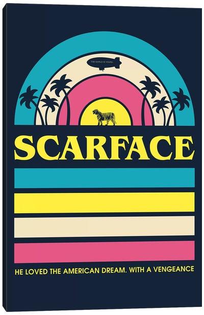Scarface Vintage Poster Canvas Art Print