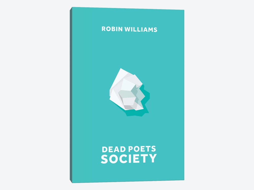 Dead Poets Society Minimalist Poster by Popate 1-piece Art Print