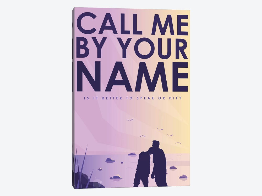 Call Me By Your Name Alternative Poster  by Popate 1-piece Art Print