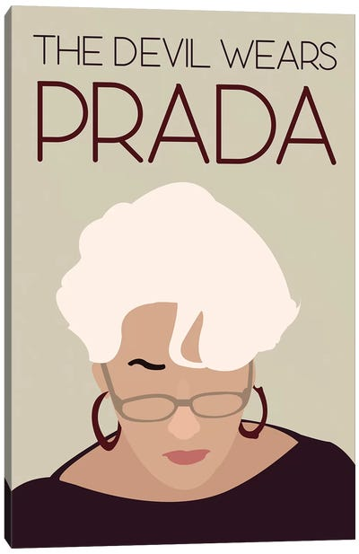 Devil Wears Prada Minimalist Poster Canvas Art Print