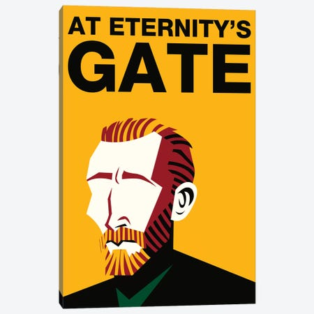 At Eternity's Gate Alternative Poster - Color 3-Piece Canvas #PTE251} by Popate Canvas Art Print
