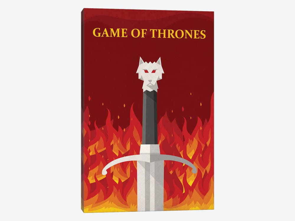 GAME OF THRONES Alternative Minimal Television Poster