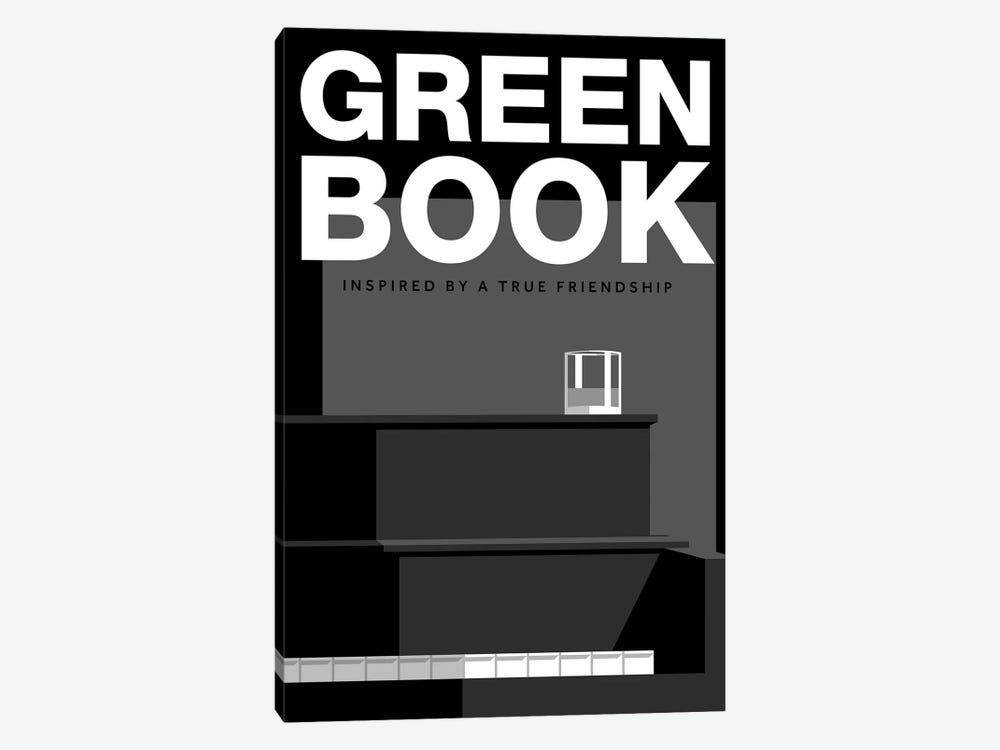 Green Book Alternative Poster by Popate 1-piece Art Print