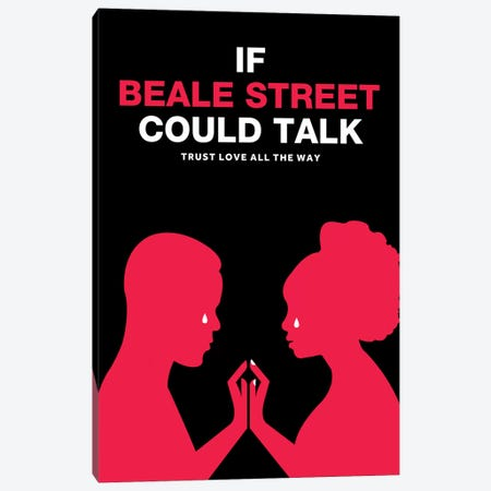 If Beale Street Could Talk Minimalist Poster - Color Canvas Print #PTE262} by Popate Canvas Art
