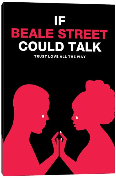 If Beale Street Could Talk Minimalist Poster - Color Canvas Art Print