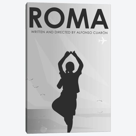 Roma Minimalist Poster Canvas Print #PTE264} by Popate Canvas Art Print