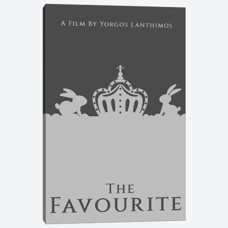 The Favourite Minimalist Poster Canvas Print #PTE265} by Popate Canvas Print