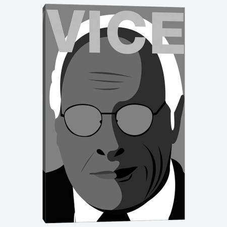 Vice Alternative Poster - Black and White Canvas Print #PTE266} by Popate Canvas Art Print