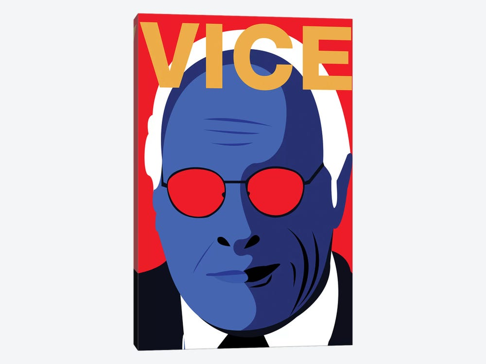 Vice Alternative Poster - Color by Popate 1-piece Canvas Artwork