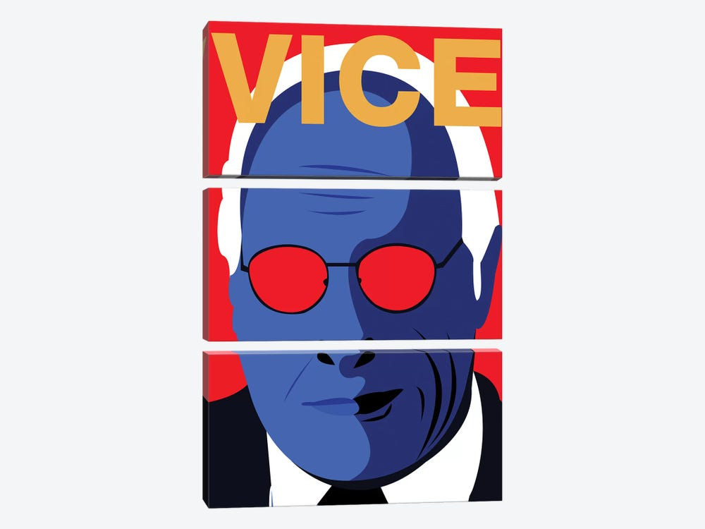 Vice Alternative Poster - Color by Popate 3-piece Canvas Art