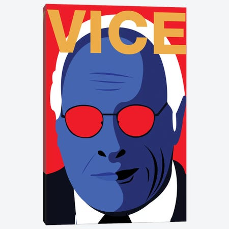 Vice Alternative Poster - Color Canvas Print #PTE267} by Popate Canvas Art Print