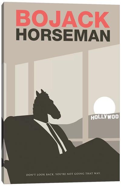 Bojack Horseman Minimalist Poster Canvas Art Print