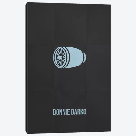 Donnie Darko Minimalist Poster Canvas Print #PTE26} by Popate Canvas Print