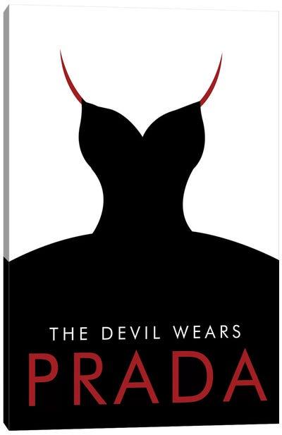 The Devil Wears Prada Minimalist Poster Canvas Art Print
