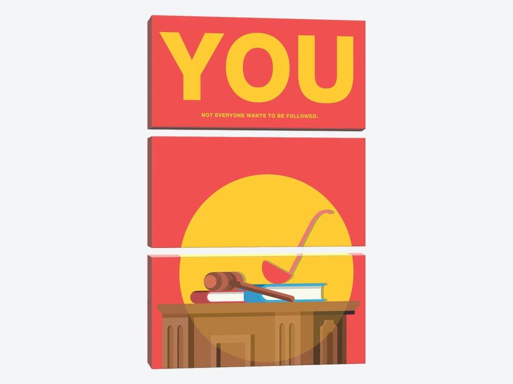 You Minimalist Poster by Popate 3-piece Art Print