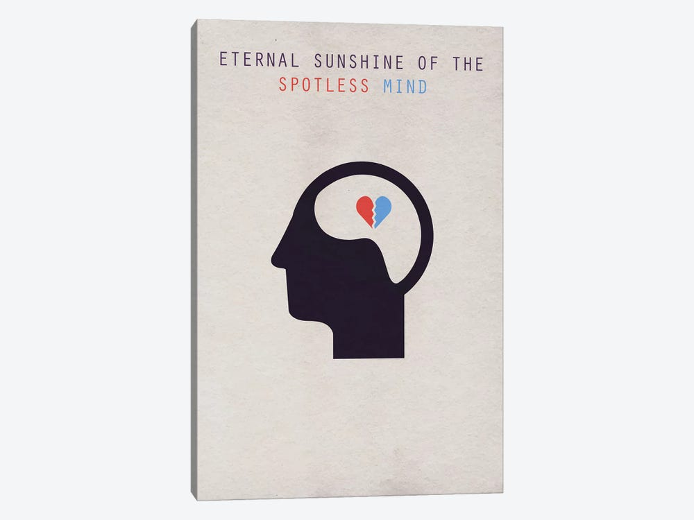 Eternal Sunshine Of The Spotless Mind Minimalist Poster by Popate 1-piece Canvas Art