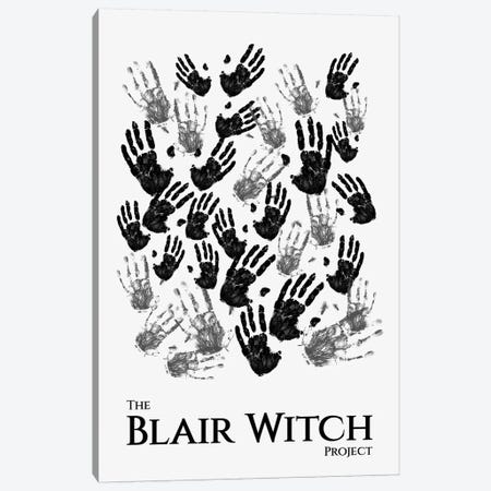 The Blair Witch Project Minimalist Poster Canvas Print #PTE293} by Popate Canvas Art Print
