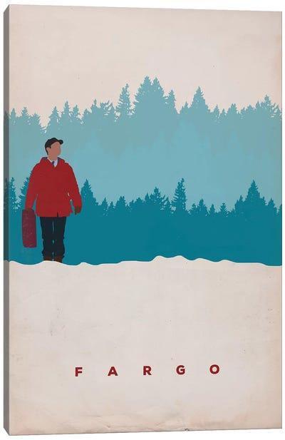 Fargo (Lester Nygaard) Minimalist Poster Canvas Art Print