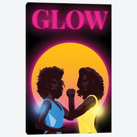 Glow Minimalist Poster By Popate Canvas Print #PTE306} by Popate Canvas Artwork