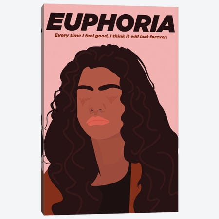 Euphoria Minimalist Poster - Rue By Popate Canvas Print #PTE310} by Popate Canvas Art