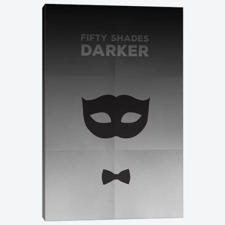 Fifty Shades Darker Minimalist Poster Canvas Print #PTE33} by Popate Canvas Art Print