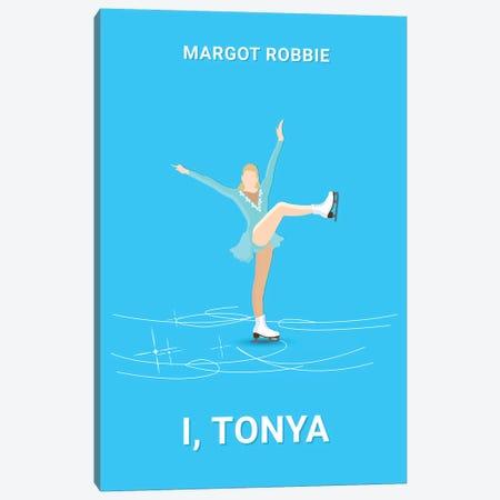 I, Tonya Minimalist Poster Canvas Print #PTE36} by Popate Canvas Artwork
