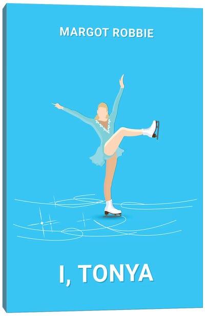 I, Tonya Minimalist Poster Canvas Art Print