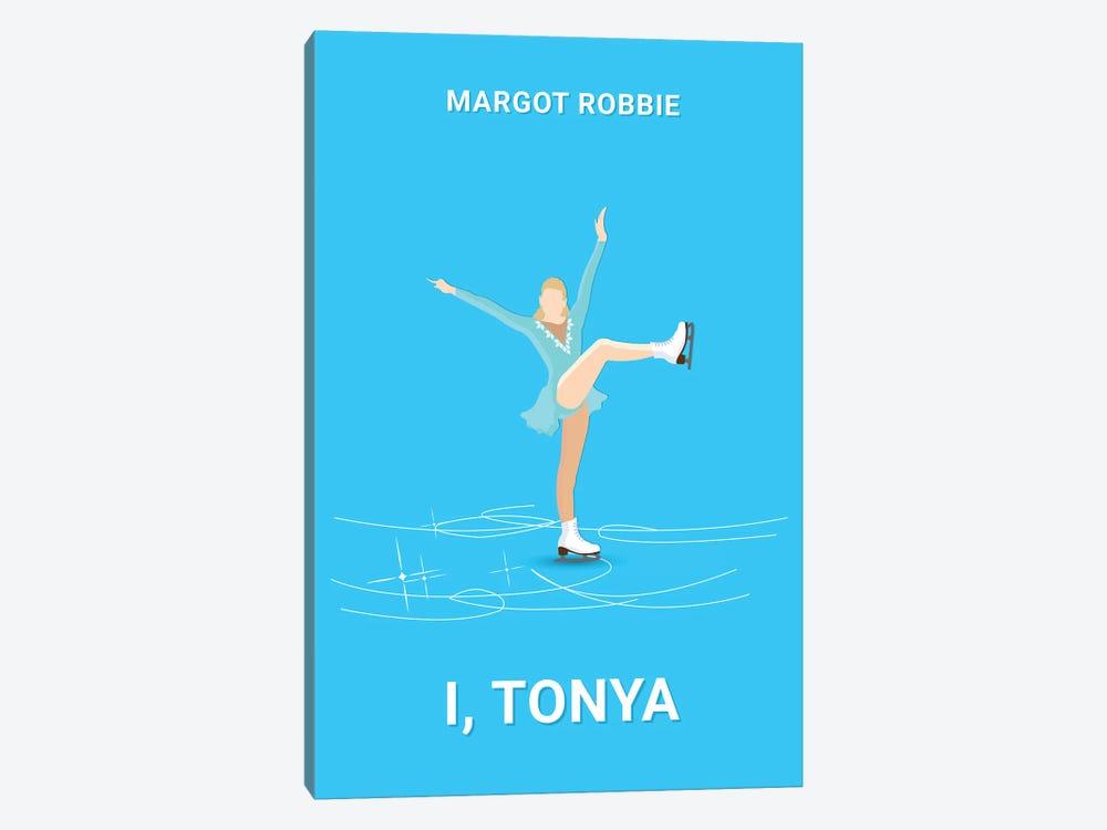 I, Tonya Minimalist Poster by Popate 1-piece Canvas Print