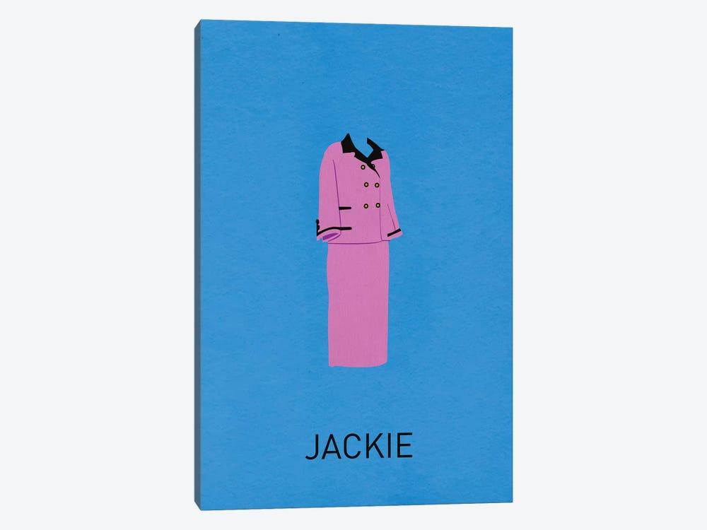 Jackie Minimalist Poster by Popate 1-piece Canvas Print