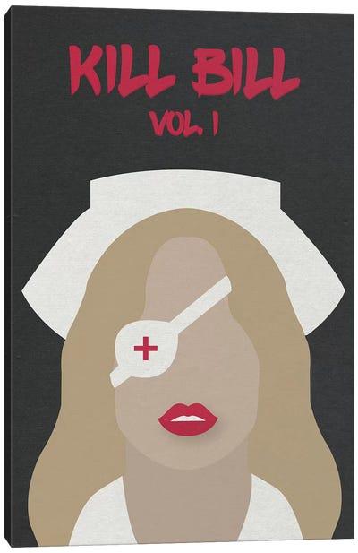 Kill Bill Vol. 1 Minimalist Poster Canvas Art Print