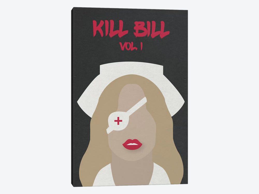Kill Bill Vol. 1 Minimalist Poster by Popate 1-piece Canvas Art