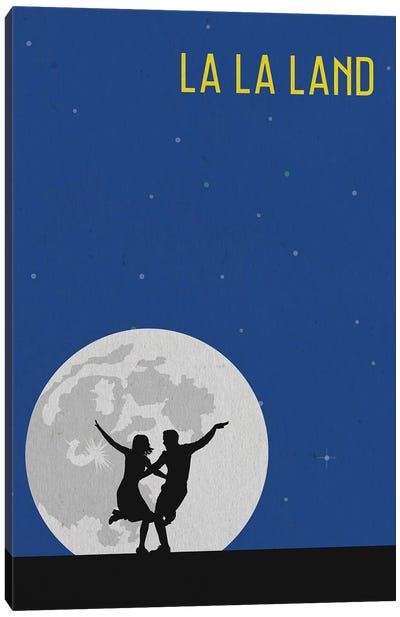 La La Land Minimalist Poster Canvas Art Print