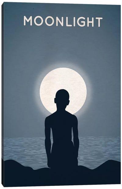 Moonlight Alternative Minimalist Poster Canvas Art Print