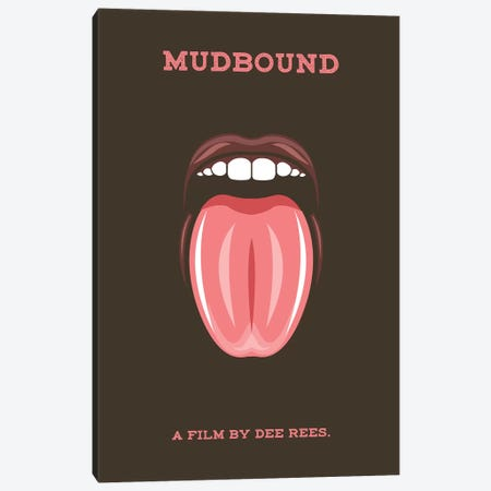 Mudbound Minimalist Poster Canvas Print #PTE50} by Popate Canvas Art Print