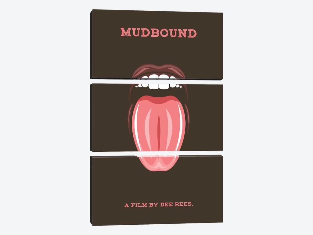 Mudbound Minimalist Poster by Popate 3-piece Canvas Print